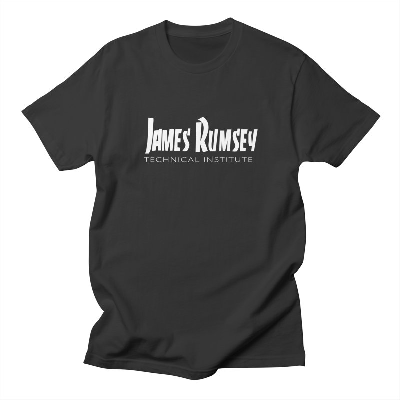 Thrasher - white print Men's Regular T-Shirt by James Rumsey Technical Institute