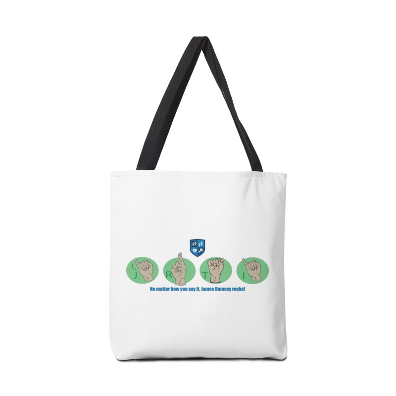 Sign Language Accessories Tote Bag Bag by James Rumsey Technical Institute