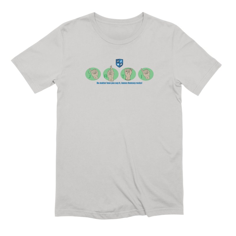 Sign Language Men's T-Shirt by James Rumsey Technical Institute