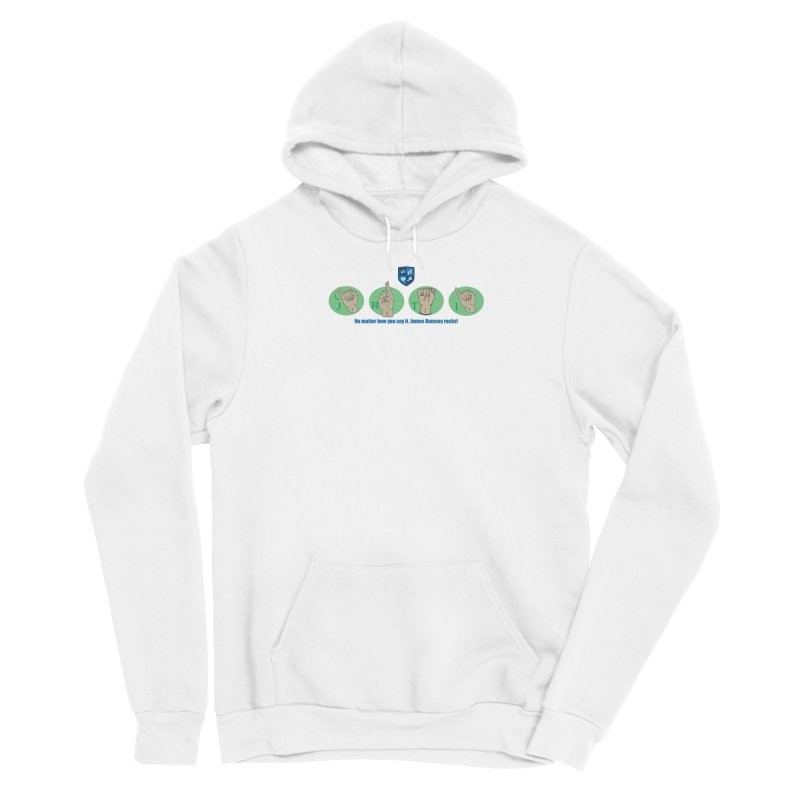 Sign Language Men's Pullover Hoody by James Rumsey Technical Institute
