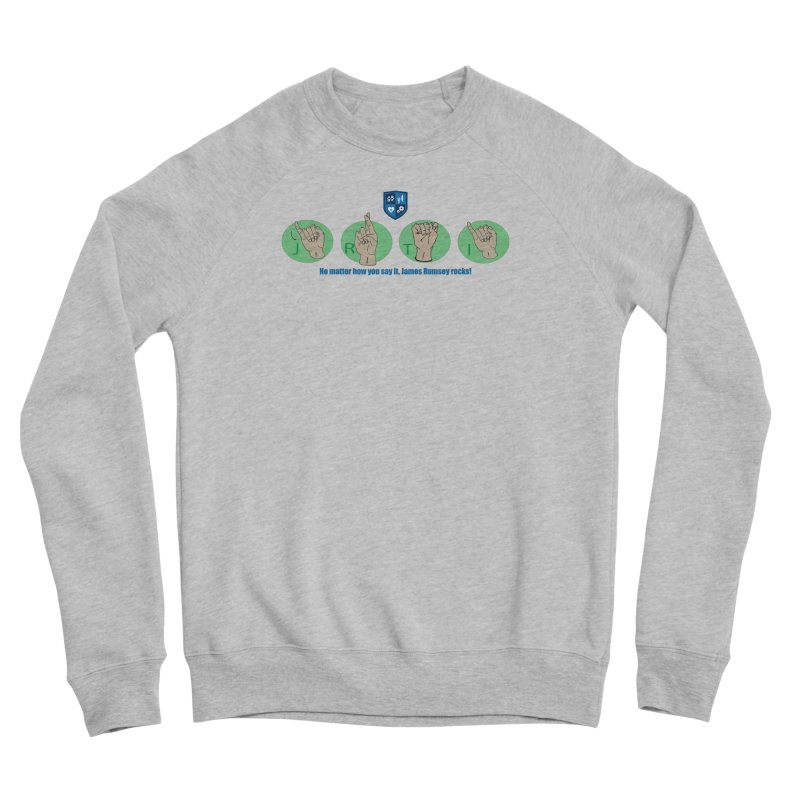 Sign Language Men's Sweatshirt by James Rumsey Technical Institute