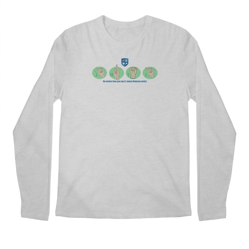 Sign Language Men's Longsleeve T-Shirt by James Rumsey Technical Institute