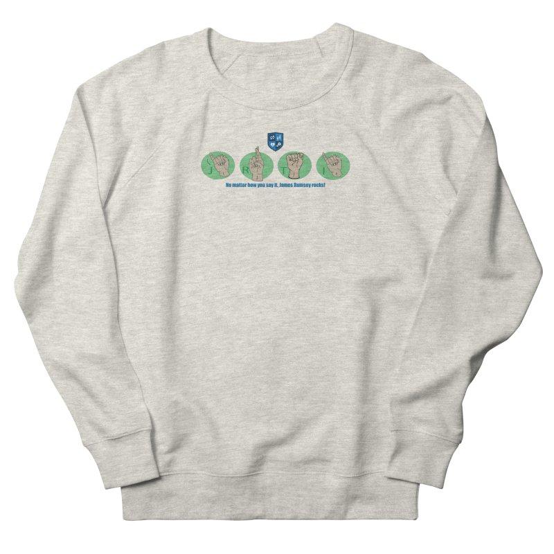 Sign Language Men's Sweatshirt by James Rumsey Technical Institute