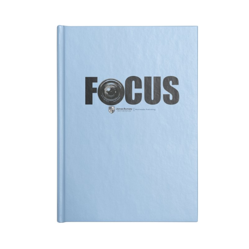 Focus Accessories Blank Journal Notebook by James Rumsey Technical Institute