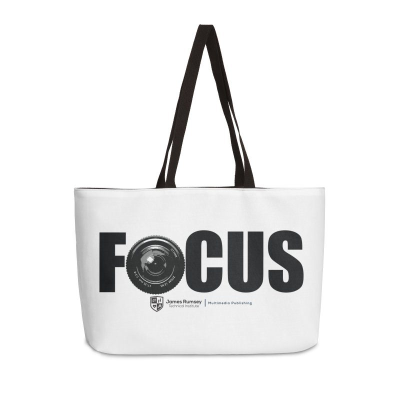 Focus Accessories Weekender Bag Bag by James Rumsey Technical Institute