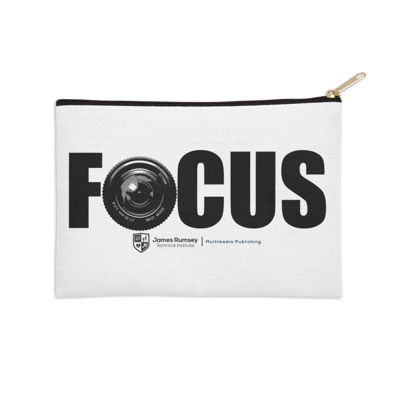 Focus Accessories Zip Pouch by James Rumsey Technical Institute