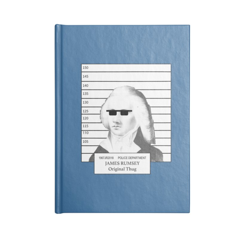 Original Thug Accessories Blank Journal Notebook by James Rumsey Technical Institute