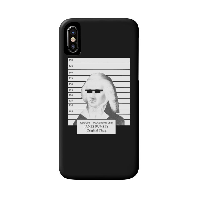 Original Thug Accessories Phone Case by James Rumsey Technical Institute