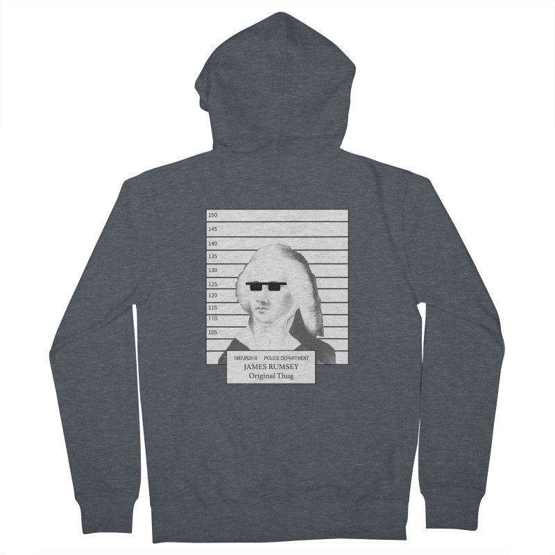 Original Thug Men's French Terry Zip-Up Hoody by James Rumsey Technical Institute