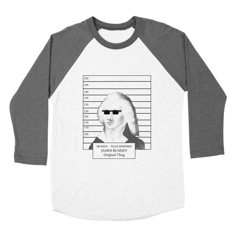 Original Thug Men's Baseball Triblend Longsleeve T-Shirt by James Rumsey Technical Institute