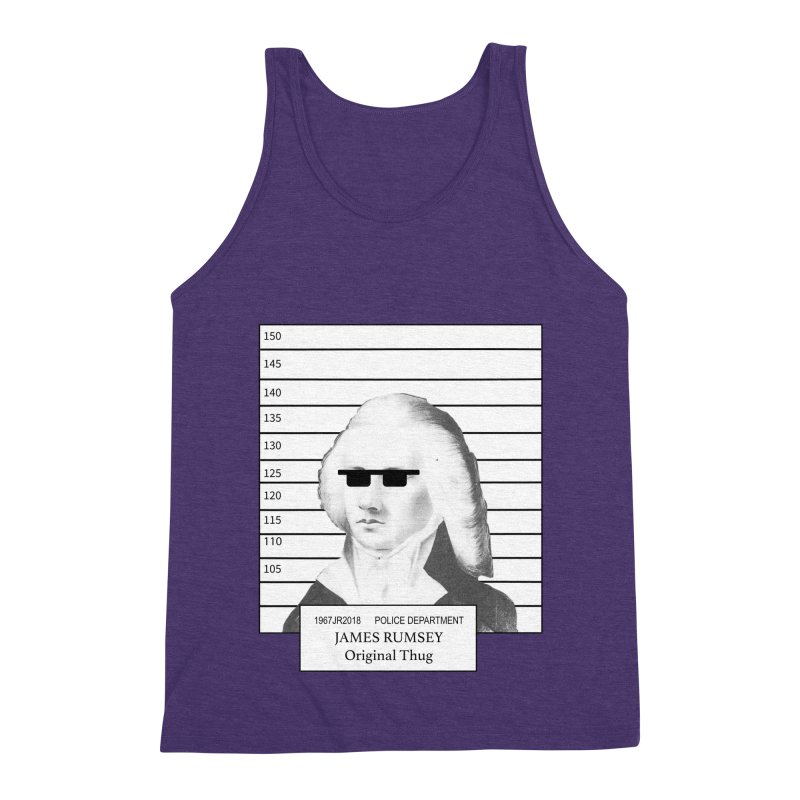 Original Thug Men's Triblend Tank by James Rumsey Technical Institute