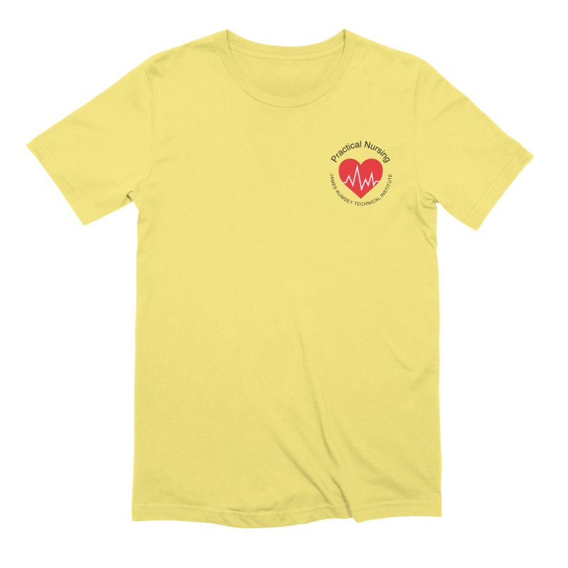 Heart - Practical Nursing Men's T-Shirt by James Rumsey Technical Institute