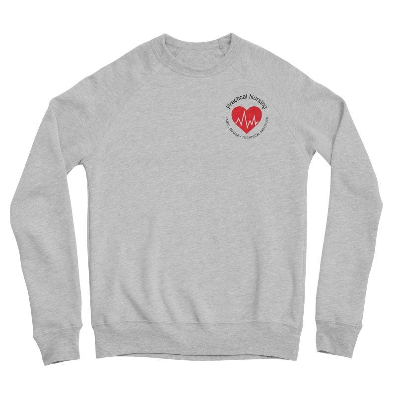 Heart - Practical Nursing Men's Sponge Fleece Sweatshirt by James Rumsey Technical Institute