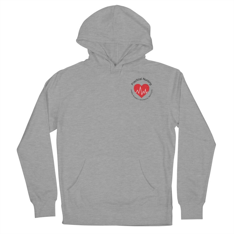 Heart - Practical Nursing Men's French Terry Pullover Hoody by James Rumsey Technical Institute
