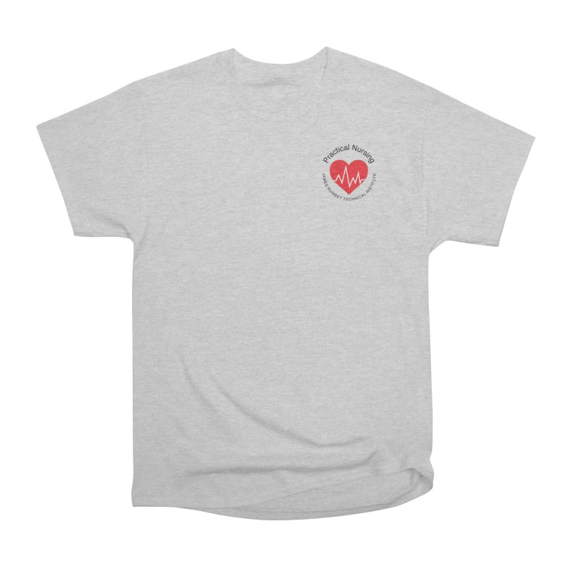 Heart - Practical Nursing Men's Heavyweight T-Shirt by James Rumsey Technical Institute
