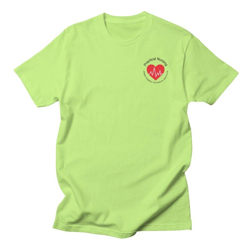 Heart - Practical Nursing Men's Regular T-Shirt by James Rumsey Technical Institute