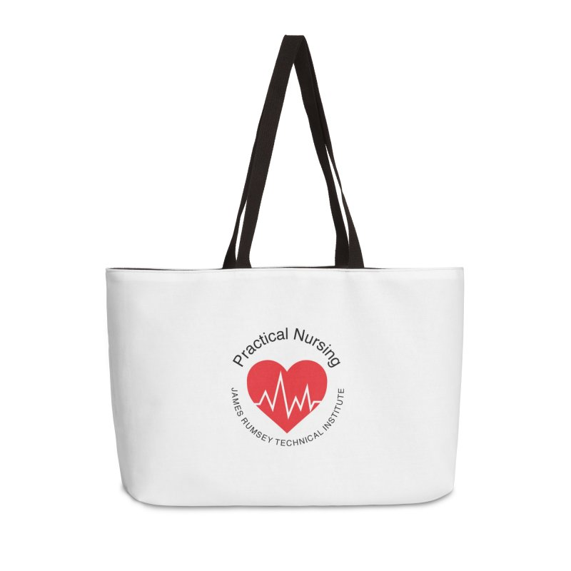 Heart - Practical Nursing Accessories Weekender Bag Bag by James Rumsey Technical Institute