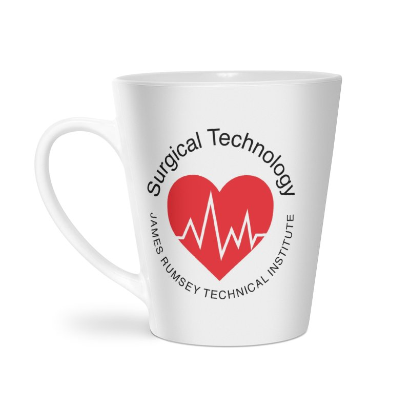 Heart - Surgical Technology Accessories Latte Mug by James Rumsey Technical Institute