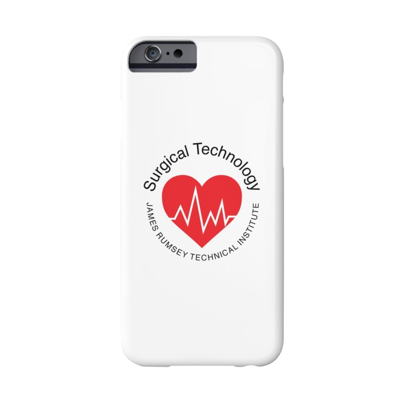 Heart - Surgical Technology Accessories Phone Case by James Rumsey Technical Institute