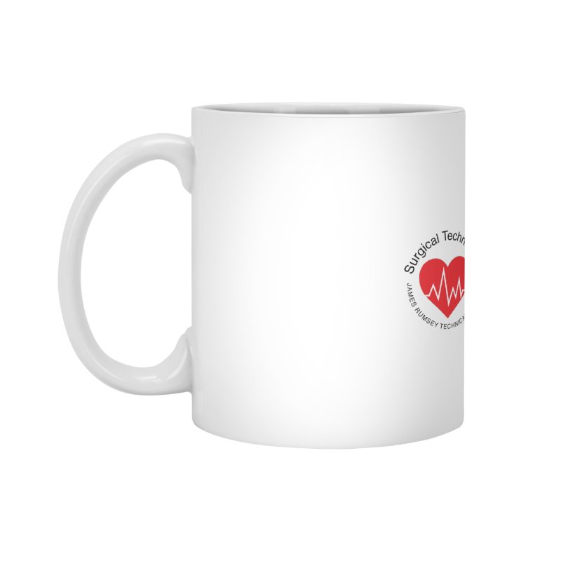 Heart - Surgical Technology Accessories Standard Mug by James Rumsey Technical Institute
