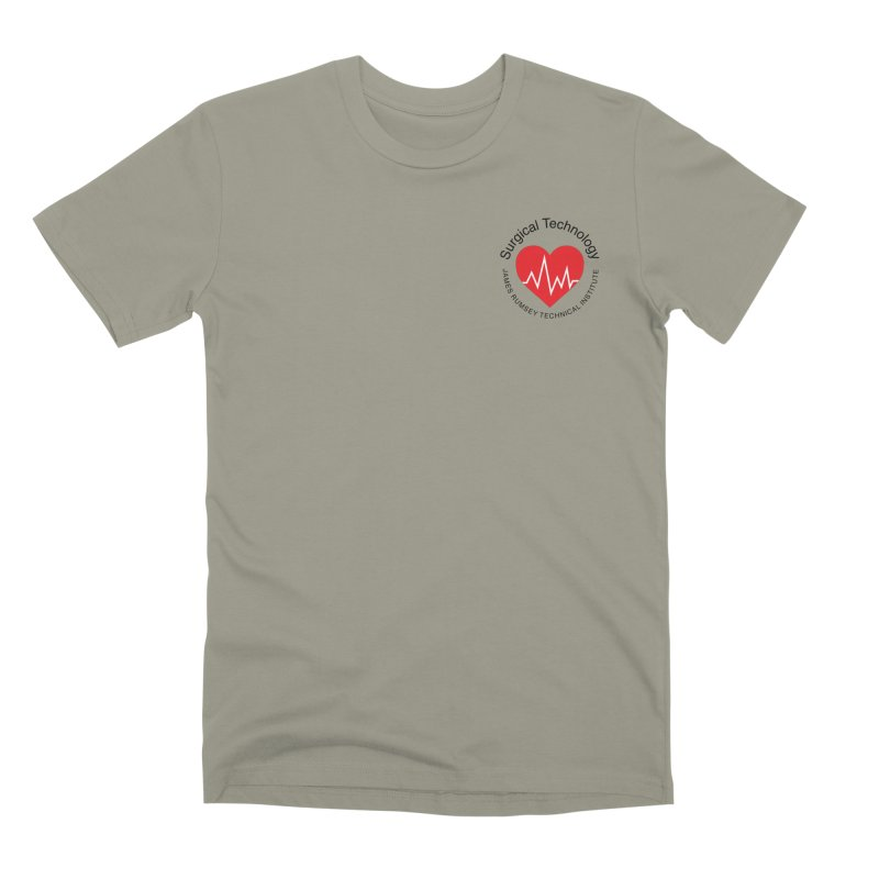 Heart - Surgical Technology Men's Premium T-Shirt by James Rumsey Technical Institute