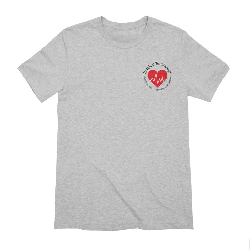 Heart - Surgical Technology Men's Extra Soft T-Shirt by James Rumsey Technical Institute