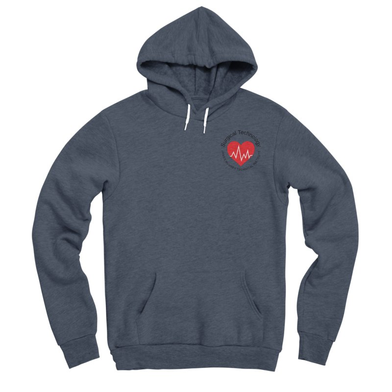 Heart - Surgical Technology Men's Sponge Fleece Pullover Hoody by James Rumsey Technical Institute