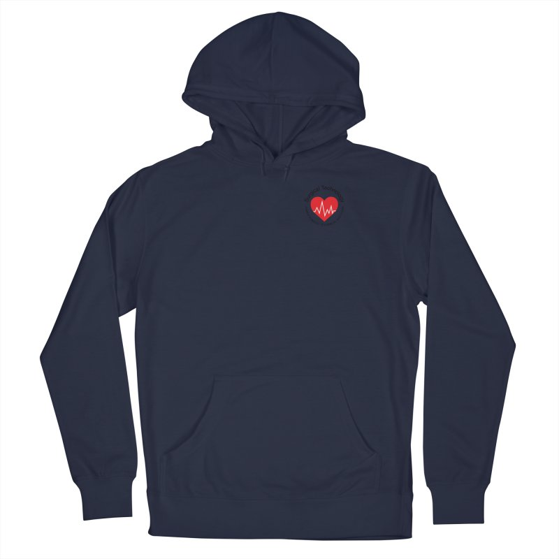 Heart - Surgical Technology Men's Pullover Hoody by James Rumsey Technical Institute