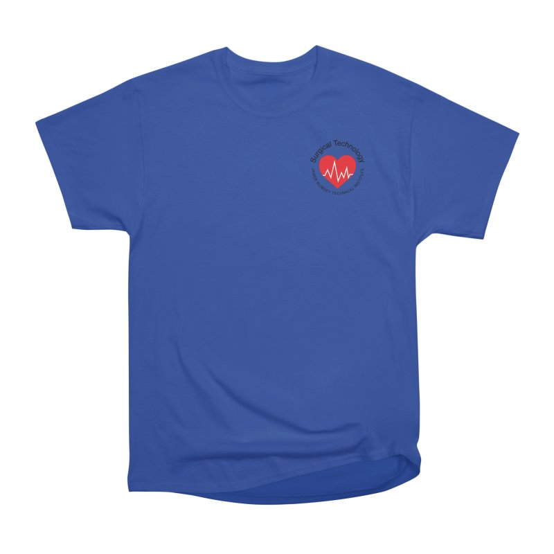 Heart - Surgical Technology Men's Heavyweight T-Shirt by James Rumsey Technical Institute