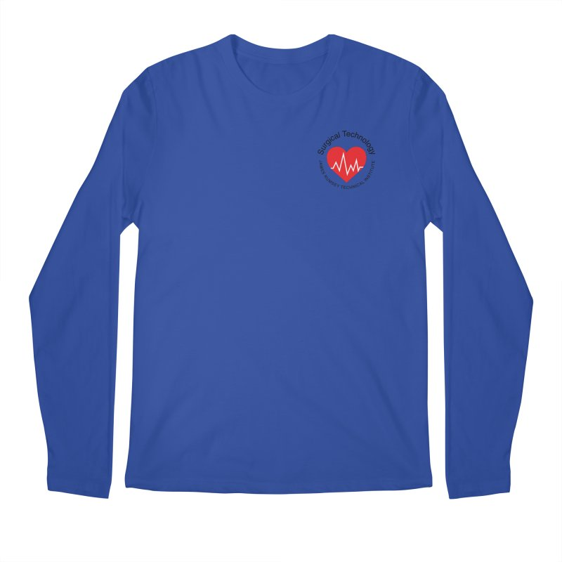Heart - Surgical Technology Men's Regular Longsleeve T-Shirt by James Rumsey Technical Institute