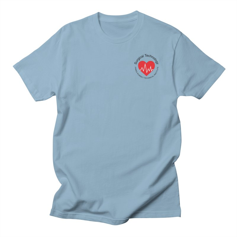 Heart - Surgical Technology Men's Regular T-Shirt by James Rumsey Technical Institute