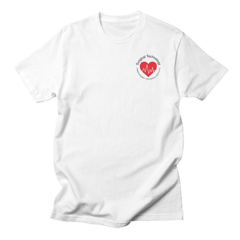 Heart - Surgical Technology Men's T-Shirt by James Rumsey Technical Institute