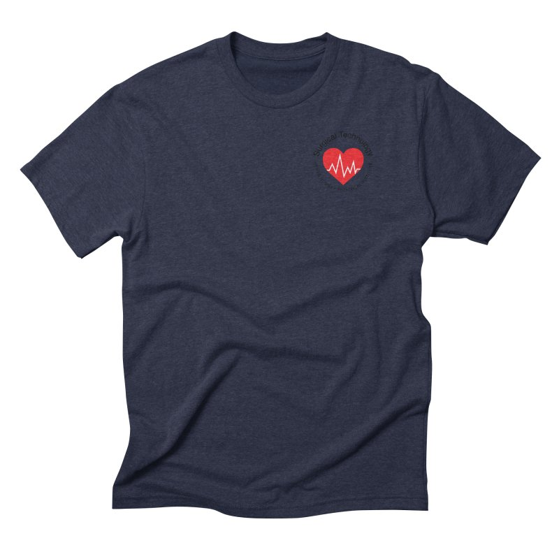 Heart - Surgical Technology Men's Triblend T-Shirt by James Rumsey Technical Institute