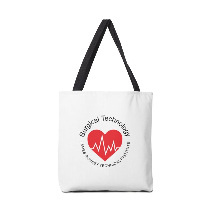 Heart - Surgical Technology Accessories Tote Bag Bag by James Rumsey Technical Institute