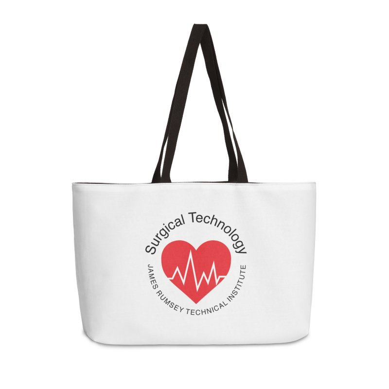 Heart - Surgical Technology Accessories Weekender Bag Bag by James Rumsey Technical Institute