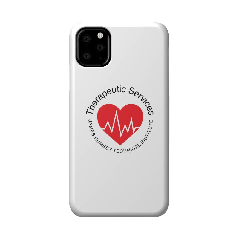 Heart - Therapeutic Services Accessories Phone Case by James Rumsey Technical Institute