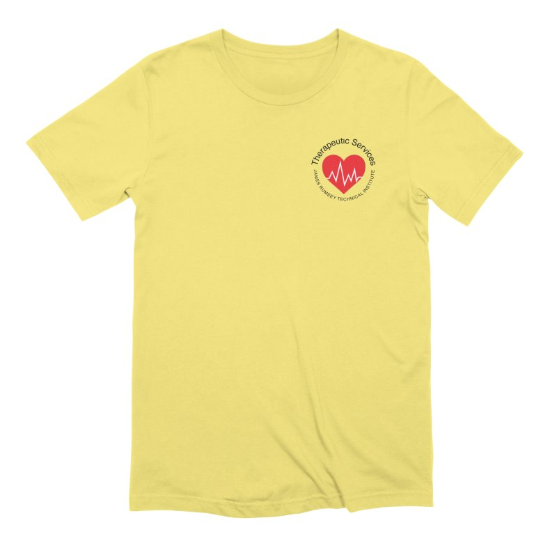 Heart - Therapeutic Services Men's T-Shirt by James Rumsey Technical Institute