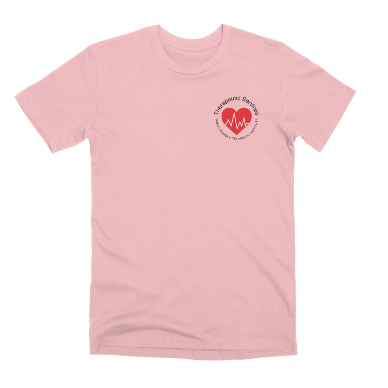 Heart - Therapeutic Services Men's Premium T-Shirt by James Rumsey Technical Institute