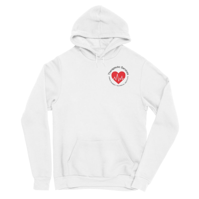 Heart - Therapeutic Services Men's Pullover Hoody by James Rumsey Technical Institute