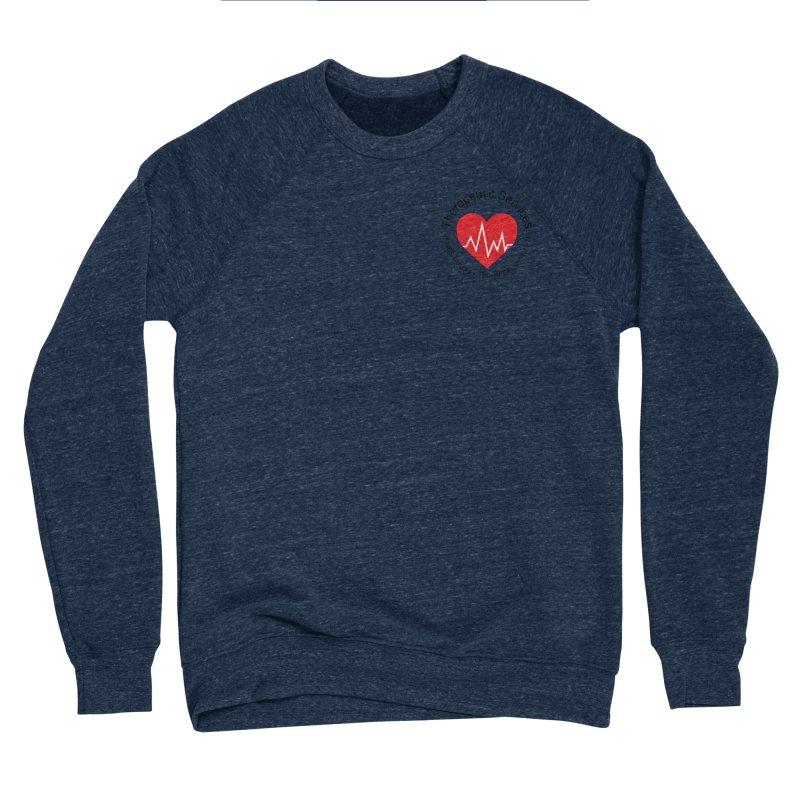 Heart - Therapeutic Services Men's Sponge Fleece Sweatshirt by James Rumsey Technical Institute