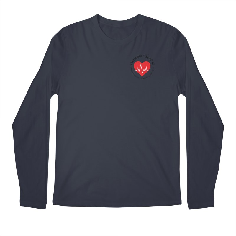 Heart - Therapeutic Services Men's Longsleeve T-Shirt by James Rumsey Technical Institute
