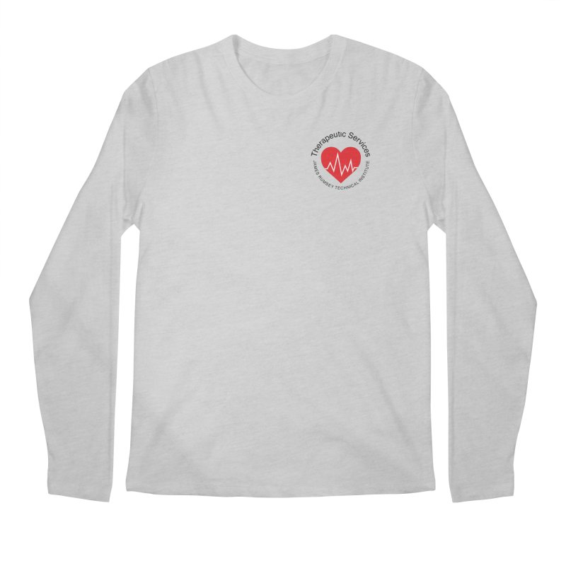 Heart - Therapeutic Services Men's Regular Longsleeve T-Shirt by James Rumsey Technical Institute