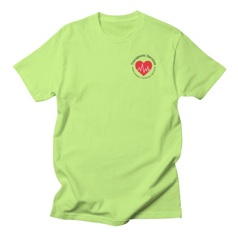 Heart - Therapeutic Services Men's Regular T-Shirt by James Rumsey Technical Institute