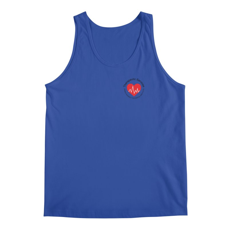 Heart - Therapeutic Services Men's Tank by James Rumsey Technical Institute