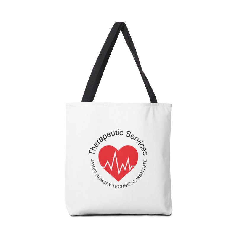 Heart - Therapeutic Services Accessories Tote Bag Bag by James Rumsey Technical Institute