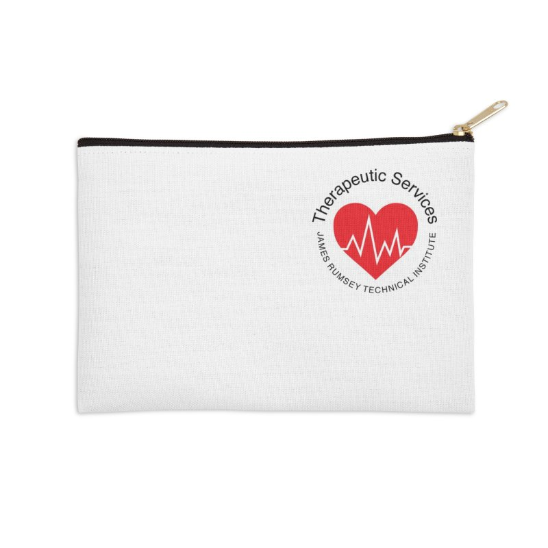 Heart - Therapeutic Services Accessories Zip Pouch by James Rumsey Technical Institute