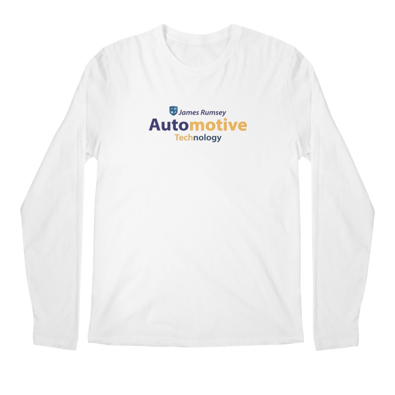 Automotive Technology Men's Regular Longsleeve T-Shirt by James Rumsey Technical Institute