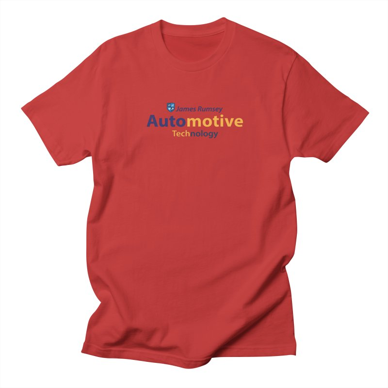 Automotive Technology Men's Regular T-Shirt by James Rumsey Technical Institute
