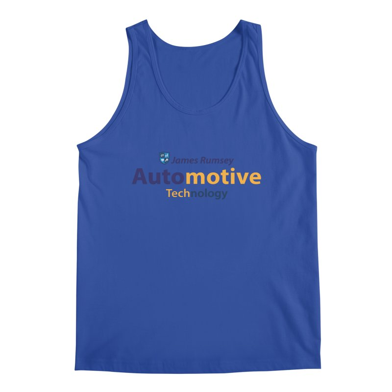 Automotive Technology Men's Regular Tank by James Rumsey Technical Institute