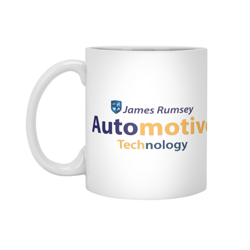 Automotive Technology Accessories Standard Mug by James Rumsey Technical Institute